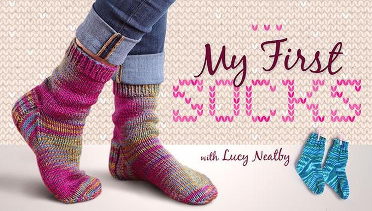 My First Socks Knitting Class | Bluprint