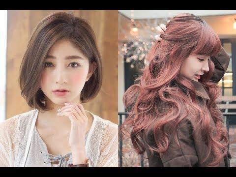Korean Hairstyles for Girls 2018 - YouTube