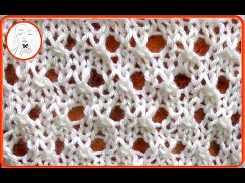 Lace Knitting Patterns- Free Knitting Tutorials - YouTube