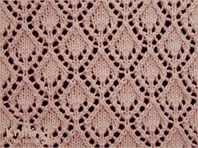 eyelet-lace-stitches | Knitting Stitch Patterns | Just Knit