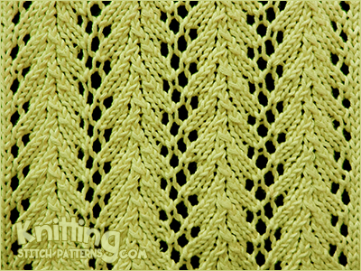 Vine lace - Knitting Stitch Patterns