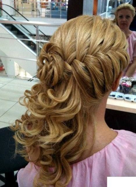 Latest Hairstyles of The Year | Wedding updo | Hair styles, Hair