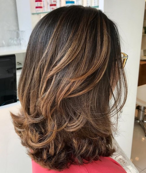 10 Best Medium Length Layered Hairstyles 2019 - Hairstyles Weekly