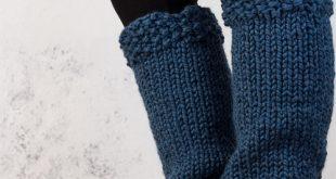 HELPFULNESS : Women's Leg Warmer Knitting Pattern - Brome Fields