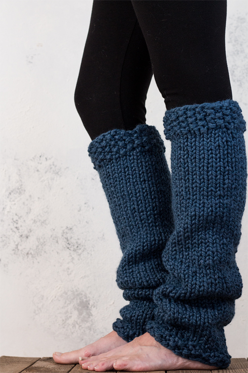 Keep your legs warm with various leg   warmers knitting patterns