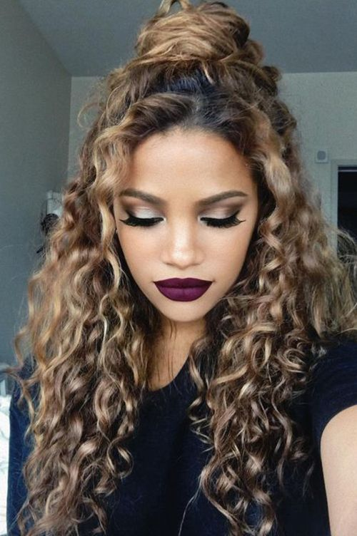 20 Trendy Hairstyles for Curly Hair | Natural Curly Hair | Pinterest