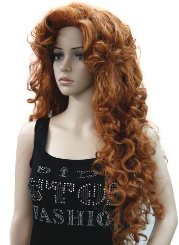 Strongbeauty Women's wig Long Curly Hairstyles Hair Synthetic Full Wig