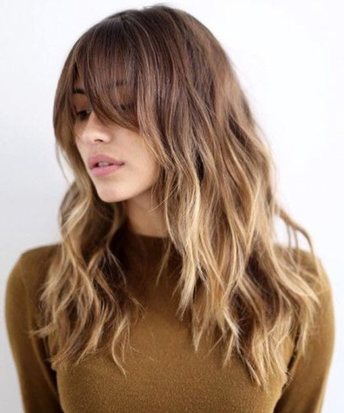 57 Of The Most Beautiful Long Hairstyles with Bangs - Highpe