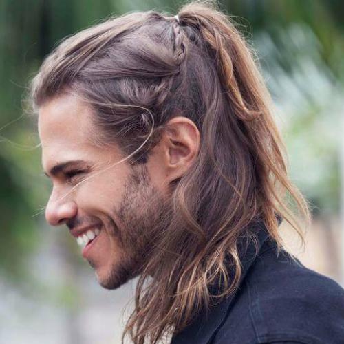 45 Rebellious Long Hairstyles for Men | MenHairstylist.com Men
