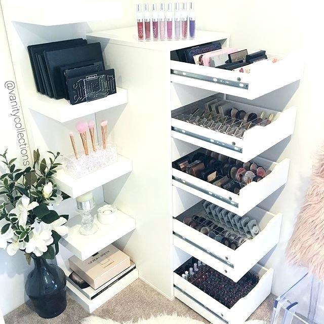 Make Up Storage Organizer Best Makeup Storage Ideas On Craft Room