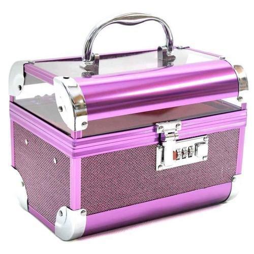 Purple Vanity Makeup Box, Rs 550 /piece, APF Collection | ID