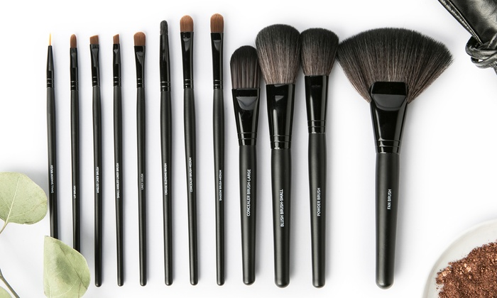 Up To 90% Off on Makeup Brush Set (13 or 15-pc.) | Groupon Goods
