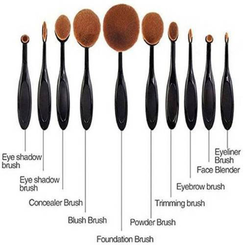 Huda Beauty Beauty Makeup Brush Set, For Household, Rs 900 /set | ID