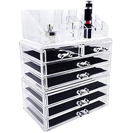 Amazon.com: Ikee Design Acrylic Jewelry & Cosmetic Storage Display