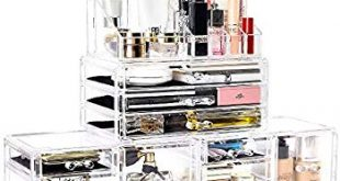 Amazon.com: Ikee Design Acrylic Jewelry & Cosmetic Storage Display