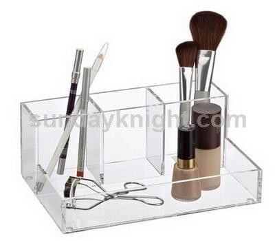 Makeup organizers, Clear acrylic makeup organizers