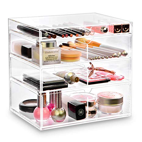 Amazon.com: Ikee Design Premium Acrylic Clear Cosmetics Acrylic