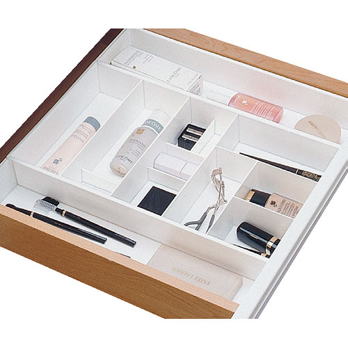 Organize all your makeup with makeup   drawer organizers