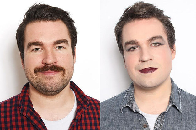 This Is What One Man Learned From Wearing Makeup For A Week