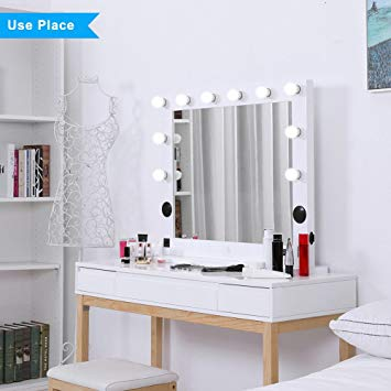 Amazon.com : Hollywood Lighted Makeup Vanity Mirror Light, Makeup
