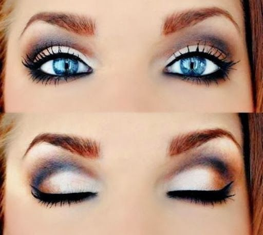 How to Make Blue Eyes Pop | eye makeup | Makeup, Blue eye makeup