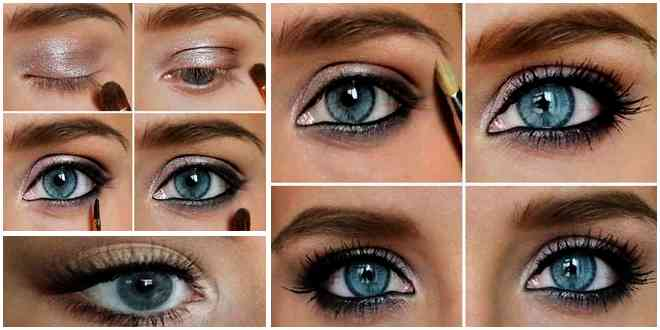 Some Makeup Tips For Blue Eyes in Different Inspiration