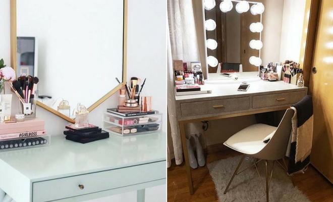 Gorgeous Makeup Vanity Ideas \u2013 fashionarrow.com