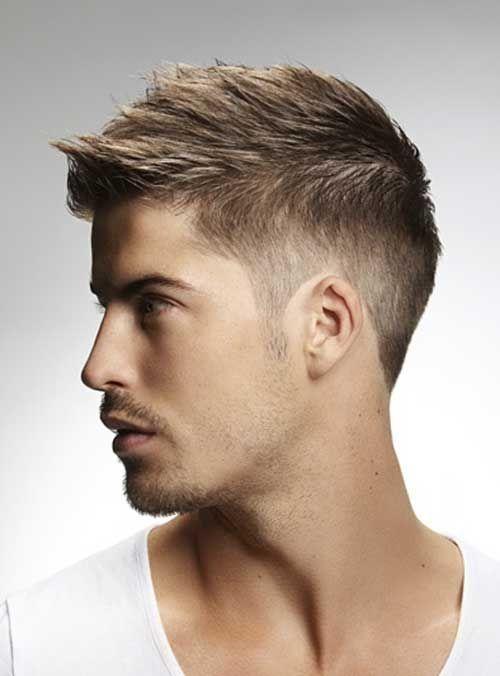 How To Style Short Hair Men | MENSWEAR | Hair styles, Short hair