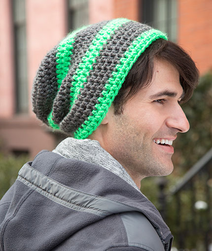36 Knit and Crochet Patterns for Men | Red Heart