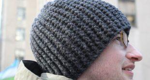 Easy Men's Crochet Hat Pattern | Here is a simple crochet hat done