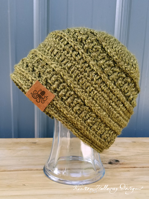 Wanderlust Beanie Crochet Hat Pattern - Kirsten Holloway Designs