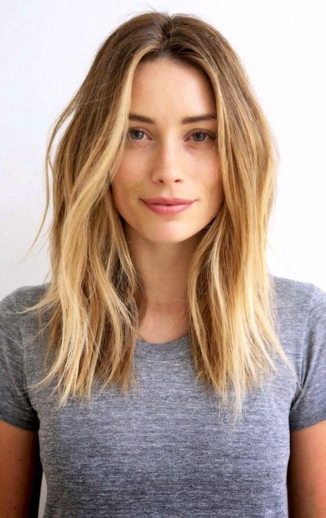 Perfect medium length hair for spring! | Beauty | Pinterest | Hair