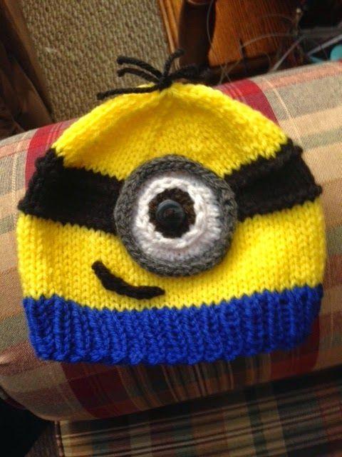 Kriskrafter: Free Knitting Pattern! A Minion Hat   KNIT-ERESTING