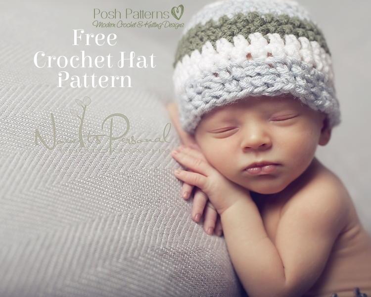 Sweet Crochet Baby Hat | AllFreeCrochet.com