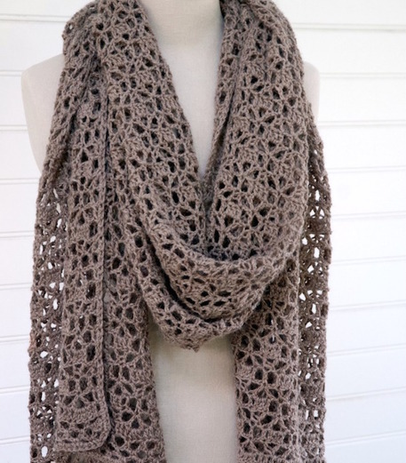 Modern Crocheted Scarf Patterns - Craftfoxes