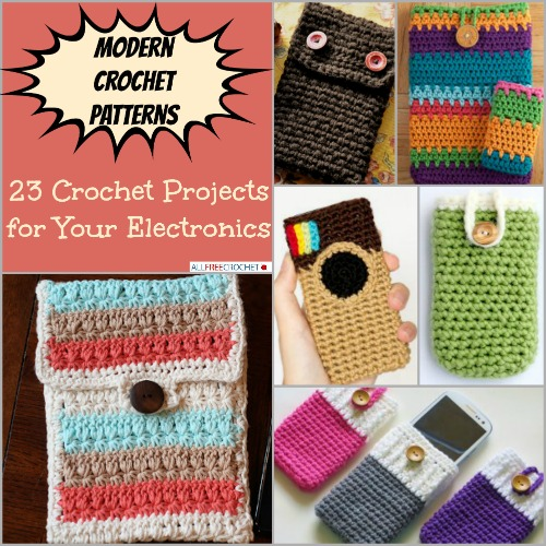 Modern Crochet Patterns for you that can   décor your home