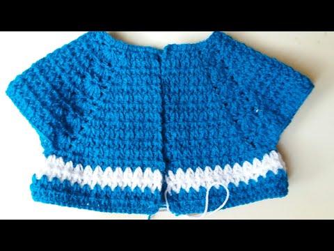 Knitting Patterns Modern Crochet cardigan knitting design for 6