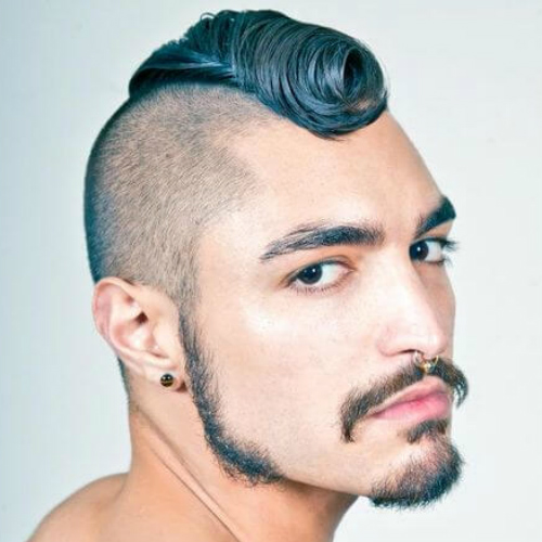 50 Eccentric Mohawk Haircut Ideas | MenHairstylist.com Men Hairstylist