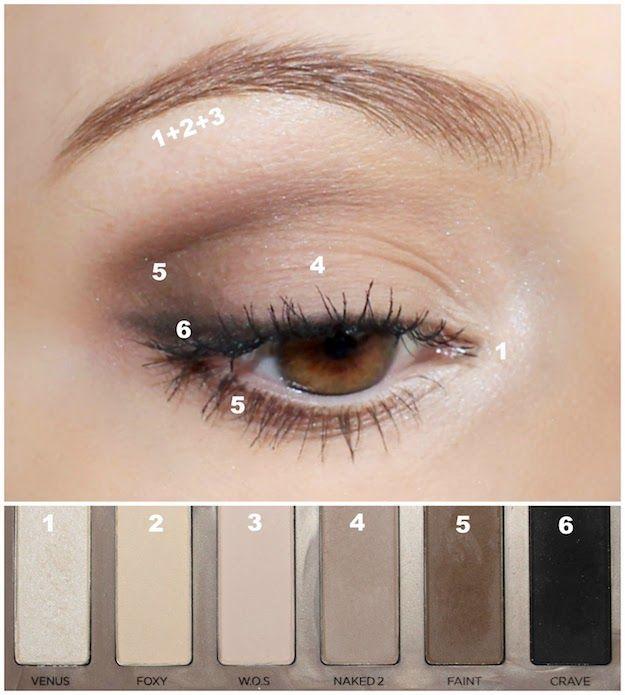Gorgeous Everyday Natural Makeup Tutorials | Makeup | Pinterest