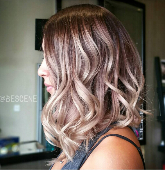Edgy New Hair Color for Medium Hair - PoPular Haircuts