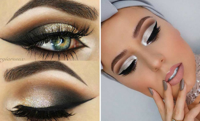 25 Glamorous Makeup Ideas for New Year's Eve | StayGlam
