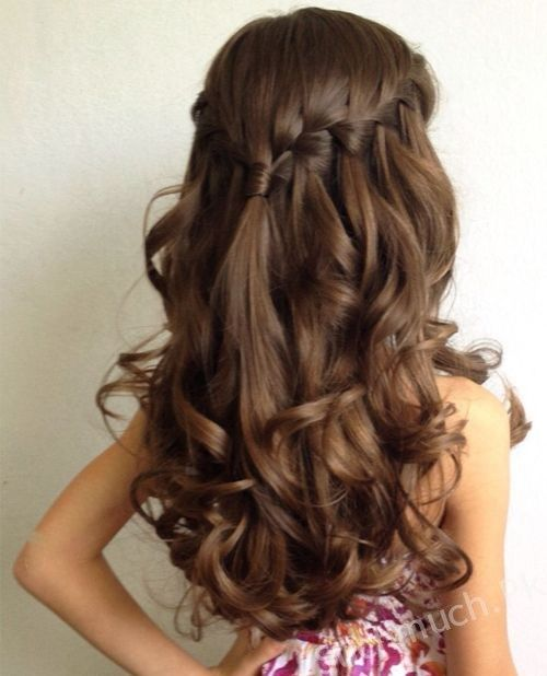 9 Easy Party Hairstyles For Your Little Princess, Little Girls