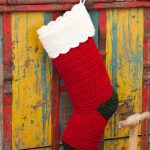 PATTERNS OF CROCHET CHRISTMAS STOCKING