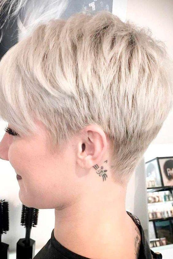 40 Stylish Pixie Haircut for Thin Hair Ideas | стрижки | Pinterest