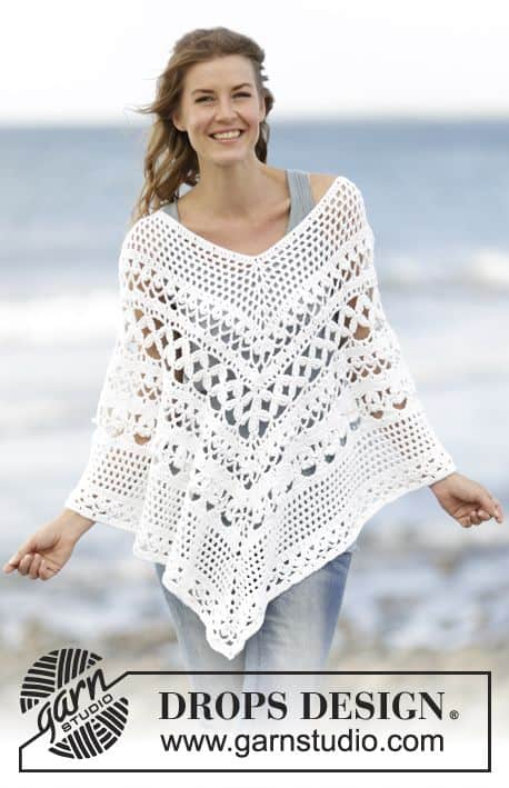 Beautiful Crochet Poncho Patterns That You Will Love | The WHOot