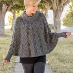 Gorgeous Look in Various Poncho Knitting   Patterns