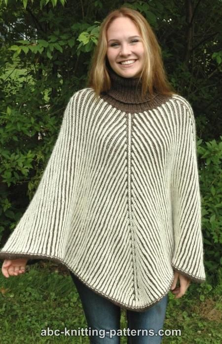 Modern Poncho Knitting Patterns- In the Loop Knitting
