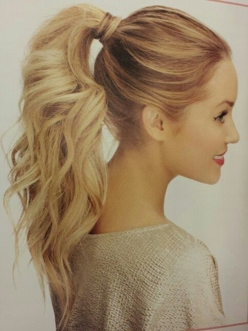 10 Cute Ponytail Ideas: Summer and Fall Hairstyles for Long Hair