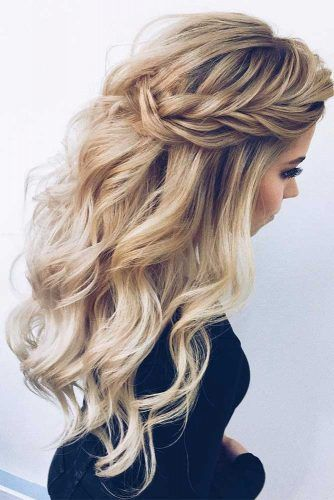 27 Dreamy Prom Hairstyles for A Night Out | Prom hairstyles