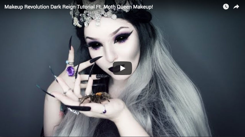 Tutorial - Dark Reign ft. Moth Queen Makeup